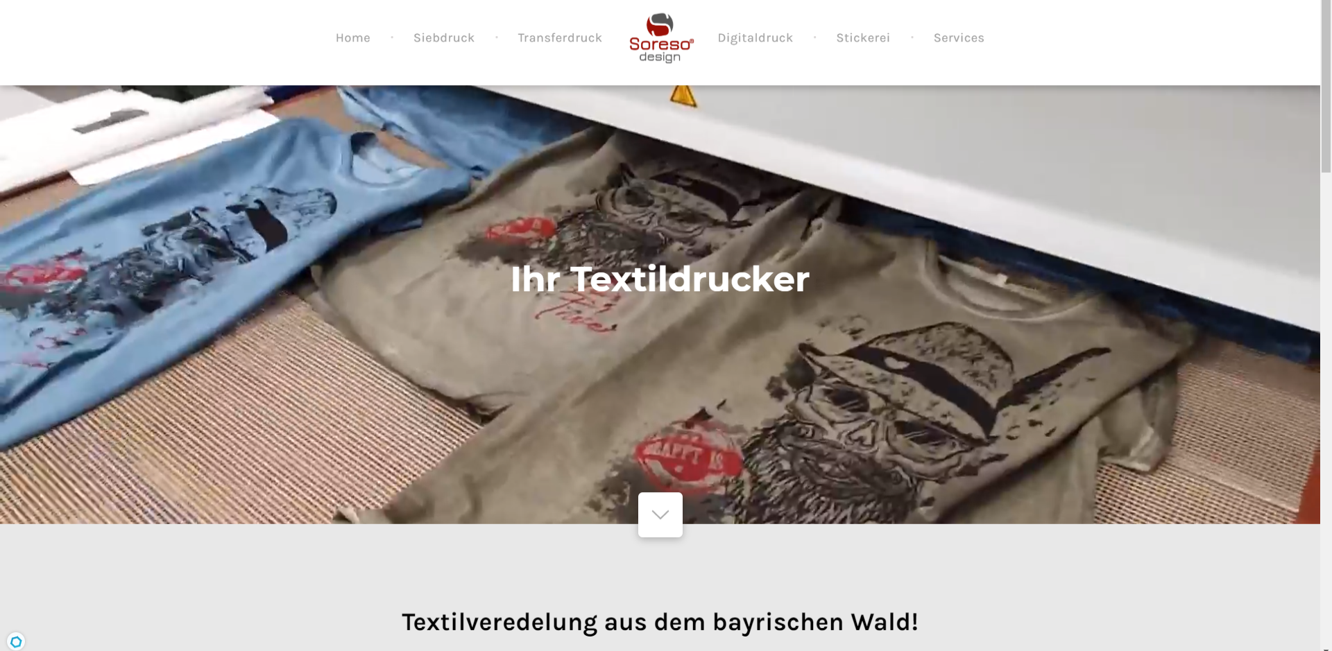 Textildruck T-Shirt